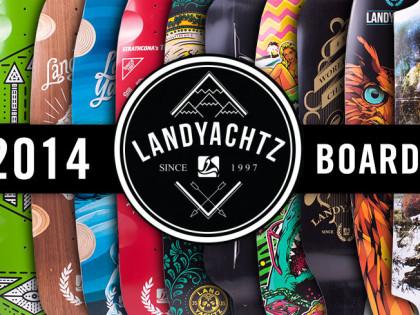 Nový Landyachtz Longboards 2014 – nyní skladem!