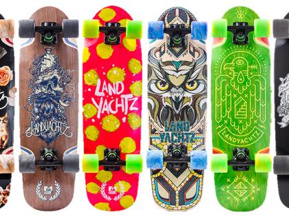Nové Landyachtz produkty na Vánoce 2015!