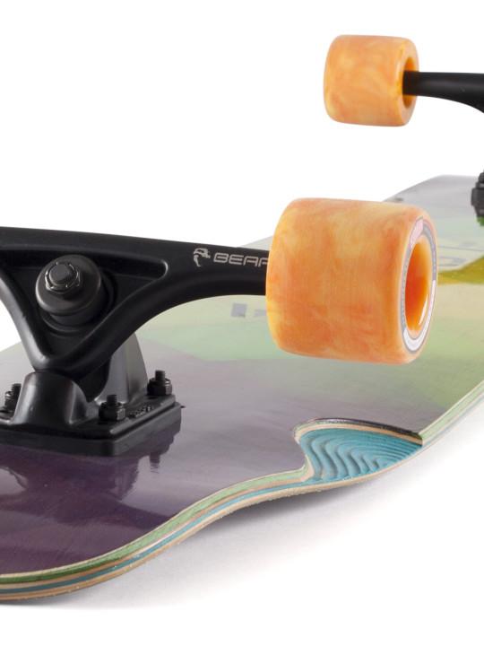 Landyachtz Bamboo Stratus Standard Flex Longboards Longboard Skateboard Angle-face