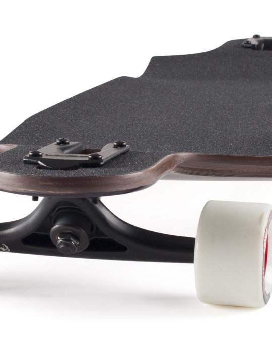 Landyachtz Switchblade 38 Yellow Fade Downhill Freeride Longboard Skateboard Angle-grip