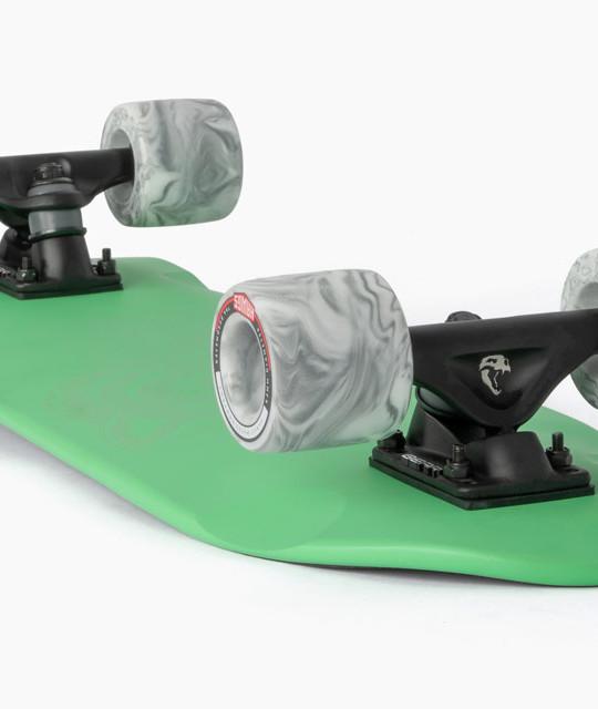 Landyachtz_Dinghy-Green-Tiger_Cruisers_Longboard_Skateboard_Angle1