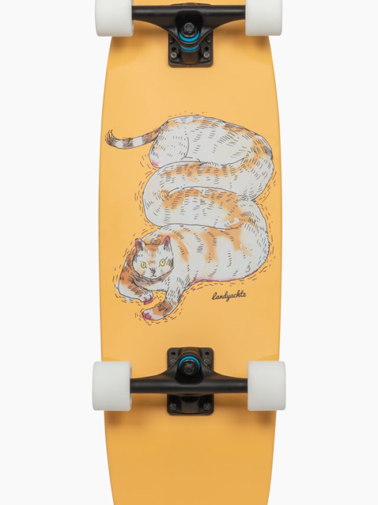 Landyachtz_Tugboat-Chill-Cat_Cruisers_Longboard_Skateboard_Face